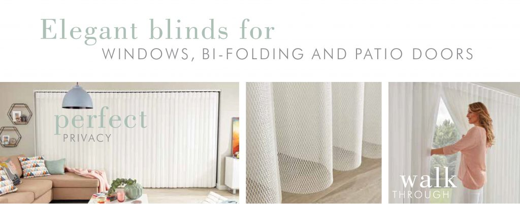 Elegant blinds for windows, bi-folding and patio doors