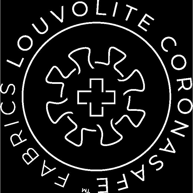 Louvolite Coronasafe™ Logo 2020_White